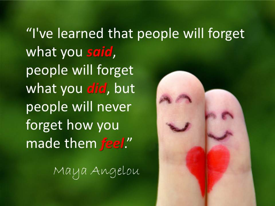 Maya Angelou Quotes About Friendship Unique Maya Angelou Quote  The People Equation